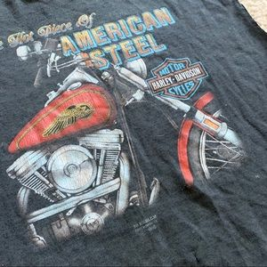 Authentic vintage Harley Davidson 3d emblem shirt